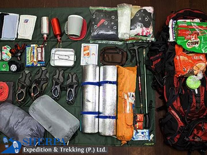 Trekking Equipment Checklist