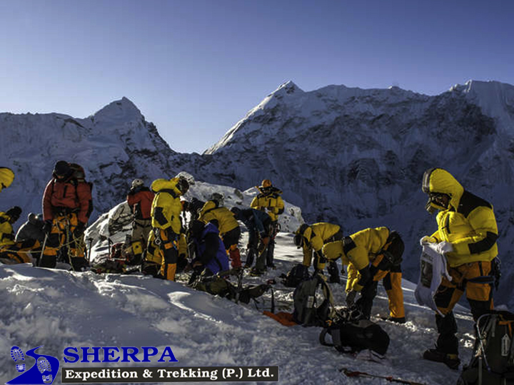Island Peak Climbing with Everest Base Camp service Trek