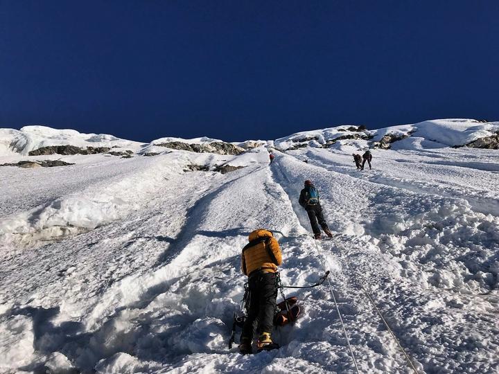 Sherpani col Trekking